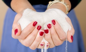Lotus Flower Salon & Spa: Gel Manicure, Regular Mani-Pedi, or Gel Mani and Regular Pedi at Lotus Flower Salon & Spa (Up to 50% Off)