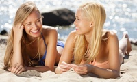 A Month of Premium Unlimited Stand-Up Spray Tanning or Lay Down Beds (Up to 42% Off)