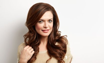 image for Haircut and Blow-Dry Plus Conditioning Treatment or Half Head Highlights at Andrew David Hairdressing (Up to 68% Off)