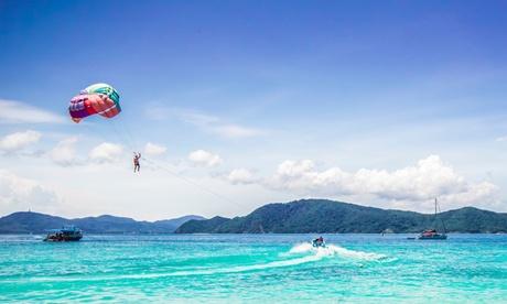 Vuelo en parasailing para dos o tres personas desde 44,95 € en Jet Bike Safari