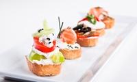 2, 4 ou 6 cocktails et 1, 2 ou 3 planches de canapé de saumon dès 24,90 € à lhôtel Aston La Scala