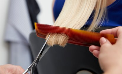 image for Kids' or Women's <strong>Haircut</strong> at Danielle's Place Salon (Up to 74% Off)