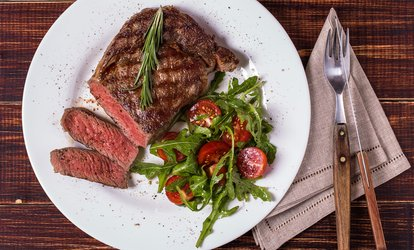 image for 8oz Sirloin Steak on the Stone with Chips and Pepper Sauce for Two at The Terenure Inn (Up to 50% Off)
