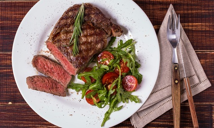Two-Course Steak Meal with Wine for two or Four at The Coopers Bar and Resturant (Up to 59% off)