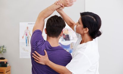 image for One-Hour Chiropractic Consultation with Two 30-Minute Treatments at Apex Chiropractic (75% Off)