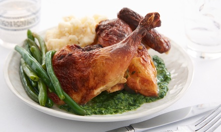 ThreeCourse Sunday Lunch for Two or Four with Bottle of Wine to Share at Shrigley Hall Hotel