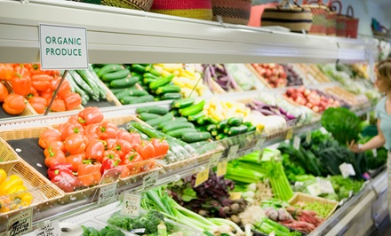 Groceries at Mountain View Market (Up to 50% Off). Two Options Available.