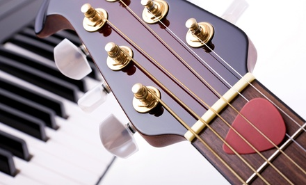 One Month of Private Weekly 30-Minute Guitar or Piano Lessons at I Teach Keys (58% Off)