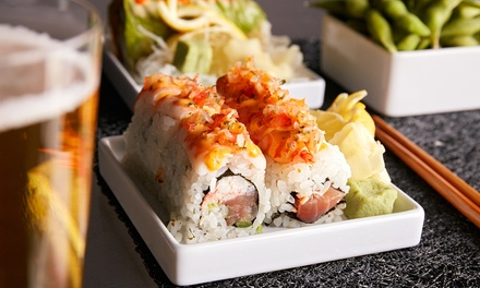 10% Cash Back at R Rice Sushi Wok Grill