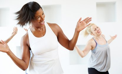 image for One Month of Unlimited Dance <strong>Classes</strong> or Five Dance Fitness <strong>Classes</strong> at Heat Cardio Club (Up to 56% Off)