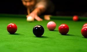 Cue Bar: Snooker lub pool bilard: 2 godziny gry od 19,99 zł i więcej opcji w Cue Bar (do -52%)