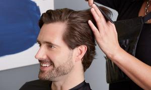 MANN Soins au masculin: Forfait spa pour homme avec soin du visage, coupe et rasage en option chez MANN Soins Masculins (jusqu'à 73 % de rabais)