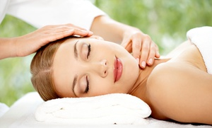 Mantra Beauty Bar: Aromatherapy Massage with Optional Facial and Microdermabrasion at Mantra Beauty Bar (Up to 65% Off)