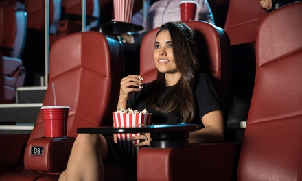 1, 2 o 4 entradas al cine con palomitas y refresco o agua desde 5,70 € en Cines Ortega