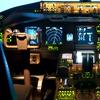 F-16 or Boeing Flight Simulator