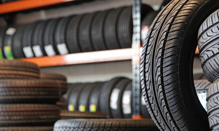 4 pneumatici con montaggio, equilibratura e convergenza da Tufano Gomme Arzano (sconto fino a 72%)