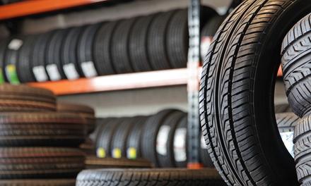 4 pneumatici con montaggio e convergenza