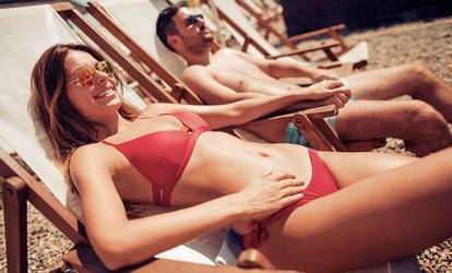 Two or Three Spray <strong>Tanning</strong> Sessions with Versa Spa Booth at B-Tan (Up to 50% Off)