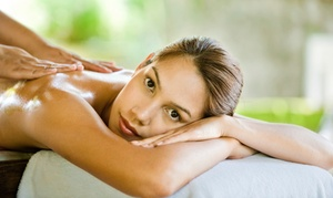 Praxis Balance: 90 Min. Abhyanga-Massage oder 120 Min. Marma-Punkt-Massage mit Sesamöl bei Praxis Balance (bis zu 50% sparen*)