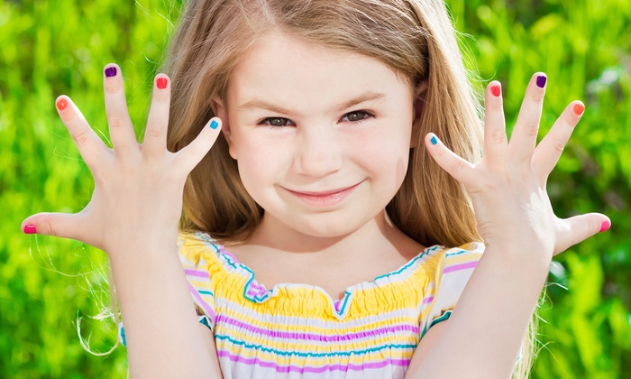 Children's Mani-Pedi Services at Besties Girls Spa (Up to 45% Off). Six Options Available.