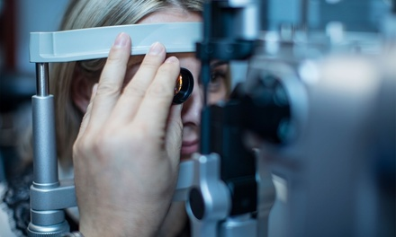 Eye Exam or Contact Lens Evaluation or Both at EZ Eyecare (Up to 68% Off)