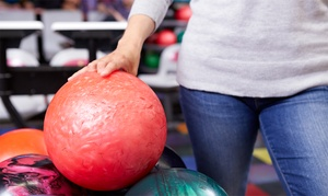 Buffaloe Lanes: $11.99 for Bowling with Shoe Rental for Two at Buffaloe Lanes Family Bowling Centers (Up to $24.50 Value)