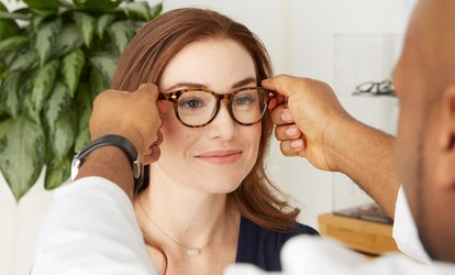 Eye Exam and $100 Toward Prescription Glasses or $9 for $100 Toward Eyewear (Up to 91% Off)