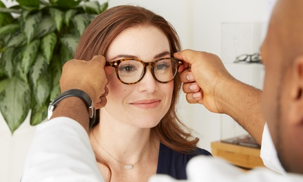 Eye Exam and $100 Toward Prescription Glasses or $10.50 for $100 Toward Eyewear (Up to 90% Off)