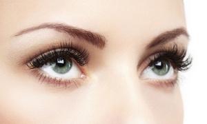 MAO STYLINGLOUNGE: 3D-Wimpernverlängerung, optional inkl. Eyebrown Strip und colorieren, in der MAO STYLINGLOUNGE (bis zu 75% sparen*)