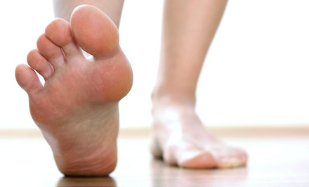 Consultation with Gait Analysis, Biomechanical Exam, and Optional Custom Orthotics (53% Off)