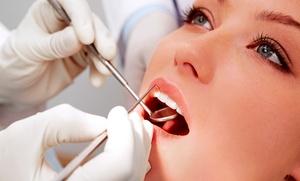 DR SSA ANNA ASPIRO: Visita odontoiatrica, pulizia denti, Air flow e sbiancamento LED (sconto fino a 79%)