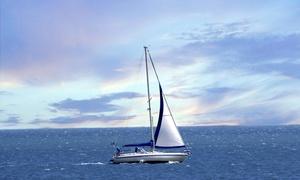 CENTRE MUNICIPAL DE VELA DE BARCELONA: Paseo en velero para dos personas por la costa de Barcelona por 238 €