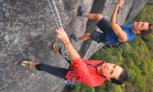 AdventureTerra: Full-Day Rock-Climbing Adventure for Up to Two or Up to Four from Adventure Terra (Up to 61% Off)