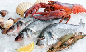 Captain Jim's Seafood: $26 for $40 Worth of Seafood for Two or More at Captain Jim's Seafood