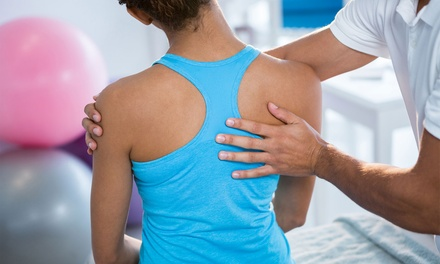 Consultation, Exam, and Two Adjustments or Laser Visits at Advanced Laser Therapy & Chiropractic (Up to 76% Off)