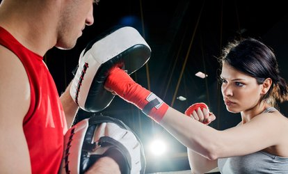 image for Five Boxing Classes for One or Two at Take A Pop Boxing (Up to 76% Off)