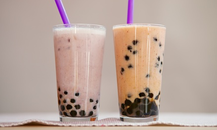 Milk Tea: One ($2.99) or Two Drinks ($5.98) at Sexy Tea (Up to $12.40 Value)
