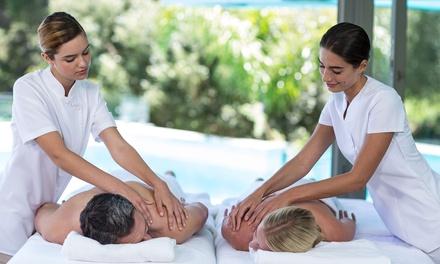 Circuito de hidroterapia con opción a masaje y comida o cena para 2 personas desde 12,99 € en Hyltor Spa