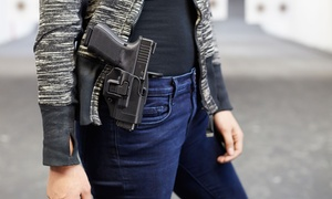 USS Agency: Concealed-Carry License Class for One or Two from USS Agency (Up to 90% Off)