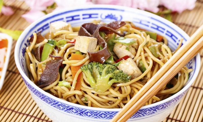 vegetarisches asia 4 g nge men china garden stuttgart groupon. Black Bedroom Furniture Sets. Home Design Ideas
