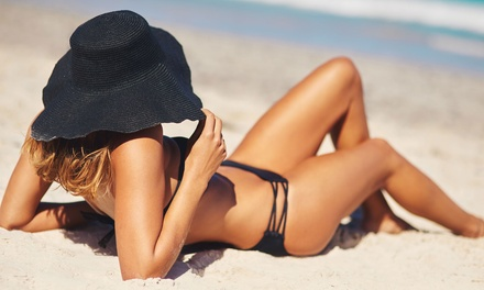 Spray Tanning: One $15, Two $29 or Three Sessions $42 at Tint Line Hair and Beauty Up to $90 Value
