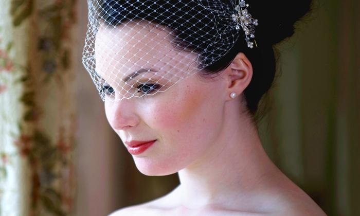 QT Beauty Center - Garden Grove: Bridal Makeup or Bridal Updo at QT Beauty Center (Up to 58% Off)