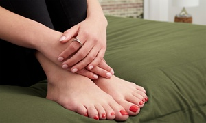 Up to 44% Off Mani-Pedi at Salon Aura at Salon Aura, plus 6.0% Cash Back from Ebates.