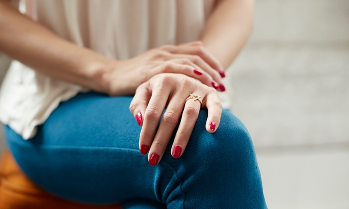 Manicure And Pedicure Artistic Nails Beauty Academy Groupon