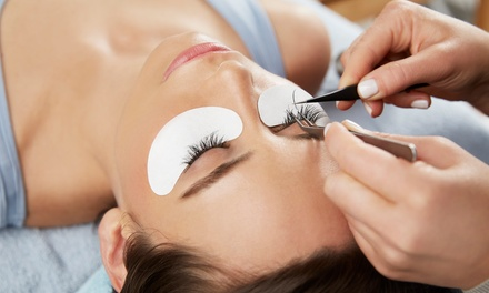 Full Set of Individual Eyelash Extensions with Optional Two-Week Fill at The Glow Miami (Up to 42% Off)