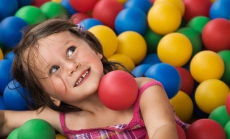 1 o 5 tardes de juegos y merienda para un niño desde 6,95 € en Divertifiesta