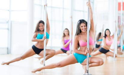 image for 1, 3, 6, or 12 Months of Pole-Dance and Fitness Classes and Tanning at Pole Worx (Up to 52% Off)