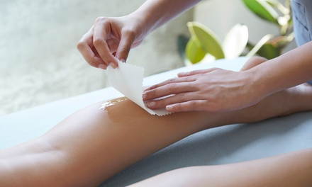 Bikini and Full- or Half-Leg Waxing Session from Elana at Tangerine (Up to 42% Off)