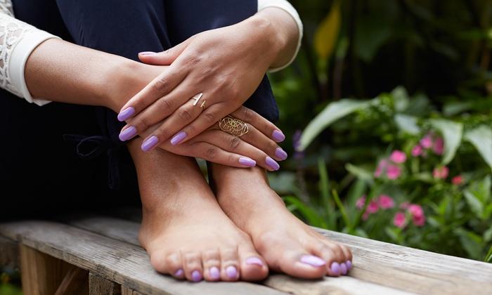 Bene Skin Care & Massage - Tysons Corner: Aromatherapy Mani-Pedi with Massage or Facial at Bene Skin Care & Massage (Up to 52% Off)