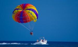 Calabernardo Gambero Rosso: Un volo in parafly da 10 minuti per una o 2 persone con Calabernardo Gambero Rosso (sconto 50%)